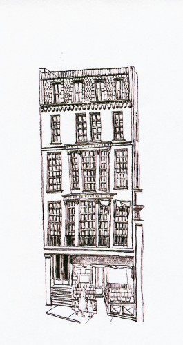The old headquarters of Houghton MIfflin at 2 Park Street
