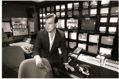 Tony Verna in the Control Room