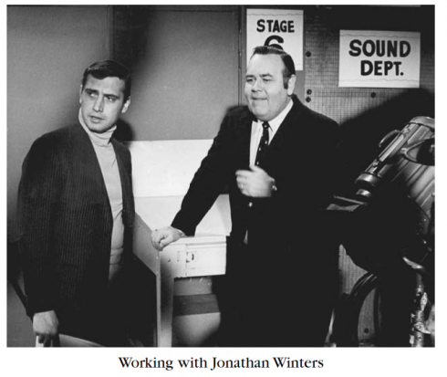 Tony Verna with Jonathan Winters