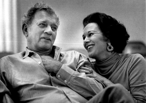 Joseph Cotten & wife Patricia Medina