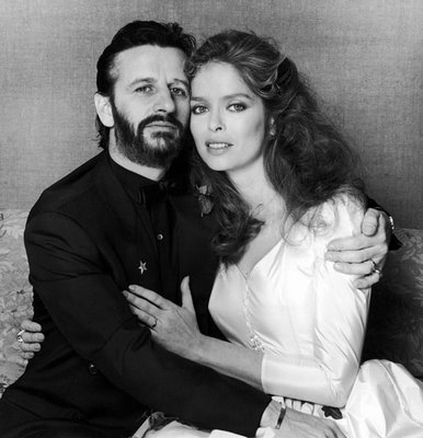 Ringo Starr and Barbara