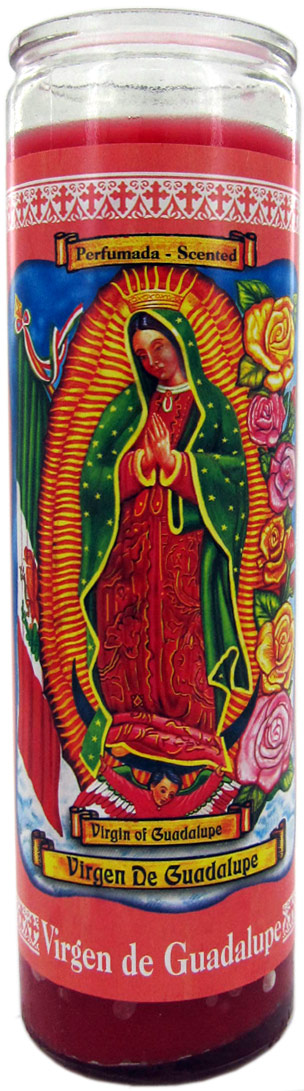 Guadalupe candle de virgin candle candles