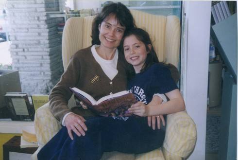 Katie O'Laughlin (& daughter Elizabeth) Open Village Bks-1997