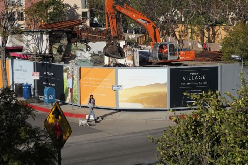 Village Books Demolition- Jan-2015