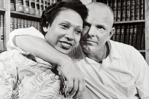 Mildred_Jeter_and_Richard_Loving_1967_after_SCOTUS-dec