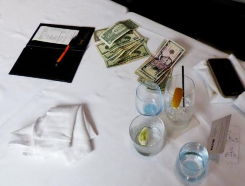 Spago- Cold Hard Cash for our Lunch