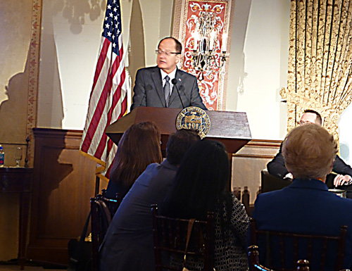 USC President Max Nikias