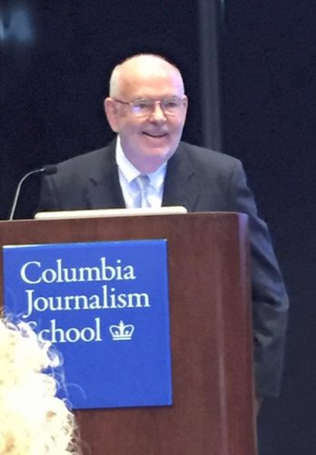 David McHam, Distinguished Alumni Award- Columbia
