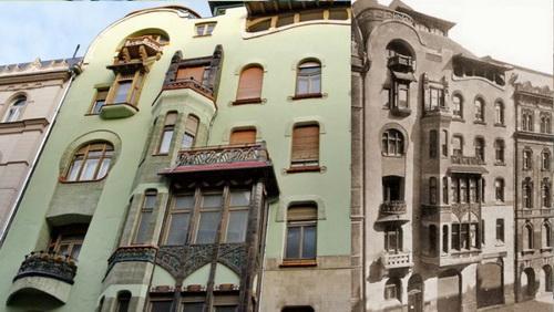 Bedo House, Budapest, Emil Vidor, 1903