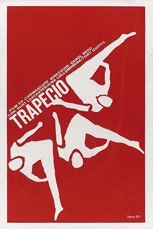 Trapeze, with Burt Lancaster